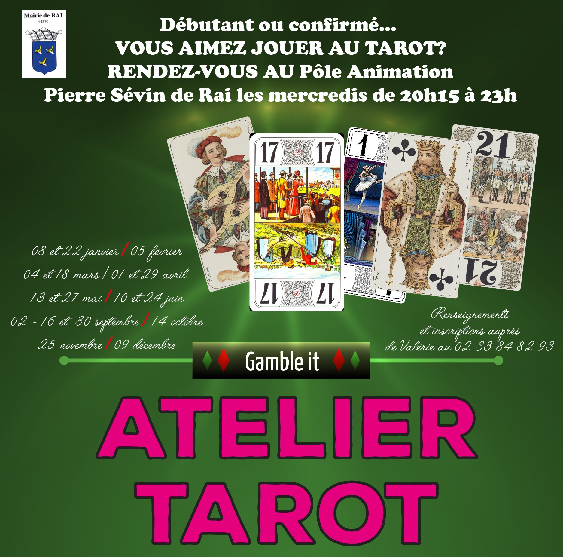 Affiche Collectif Tarot 2020