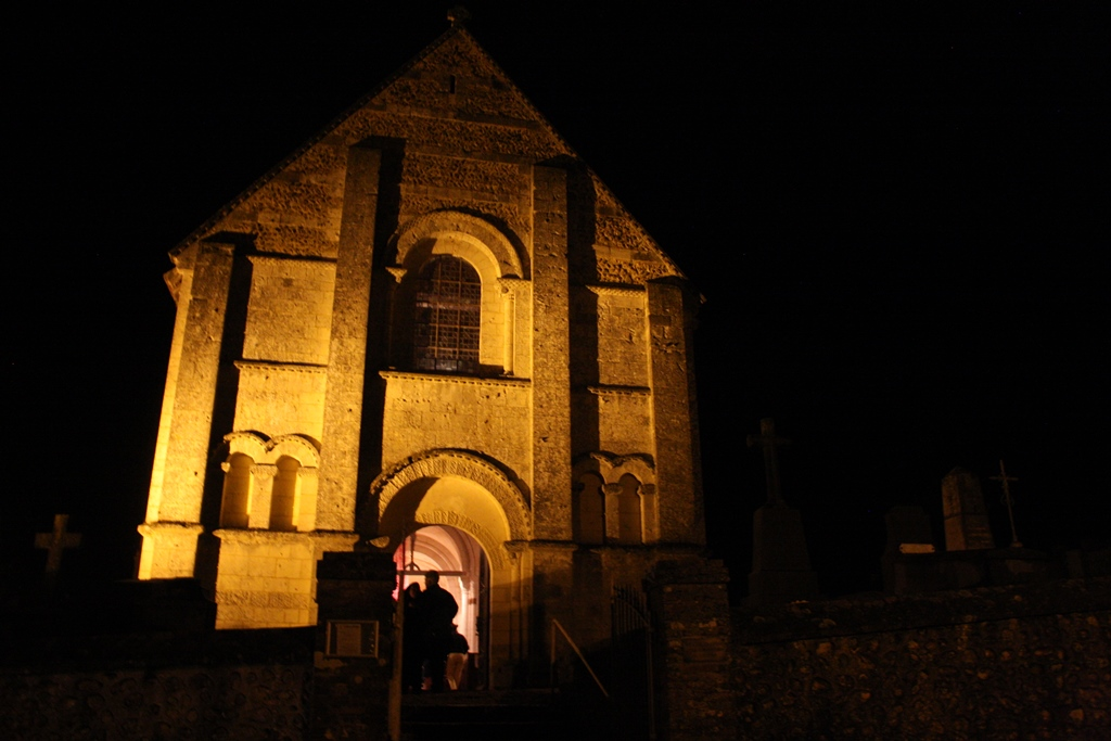 Pierres en lumières Notre-Dame d'Autehuil