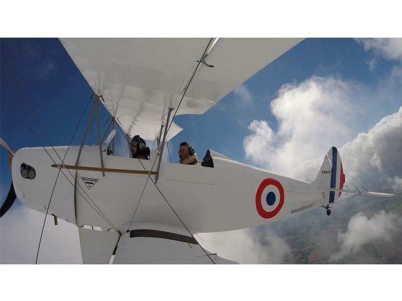 La Normandie en biplan - Argentan