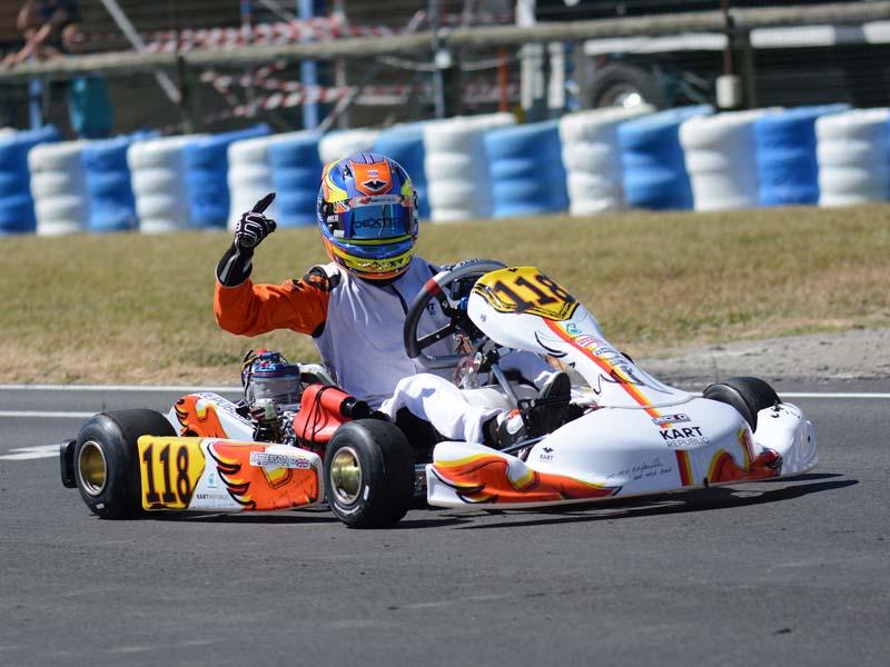 Compétition karting - Aunay les Bois