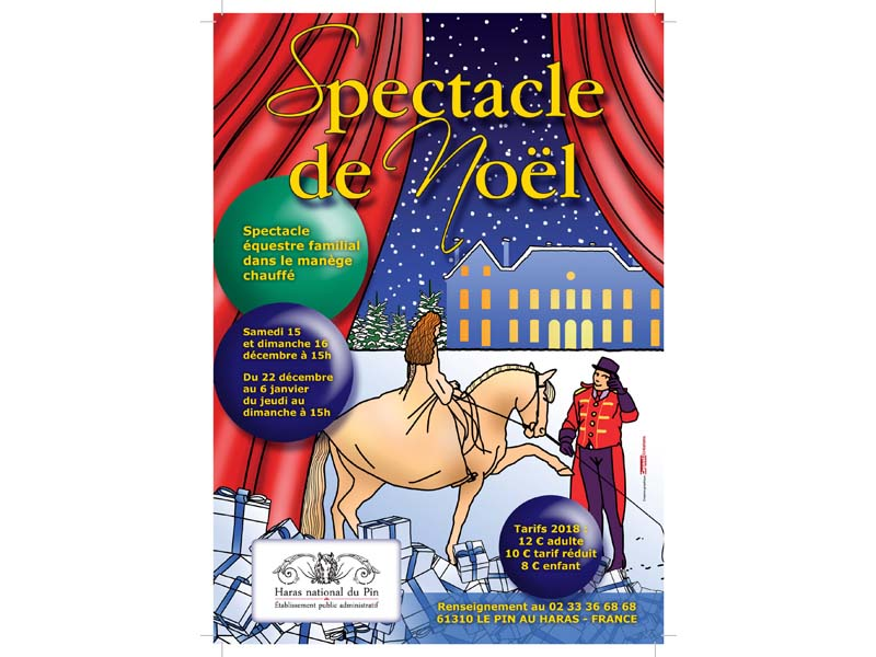 Spectacle de Noël - Haras du Pin