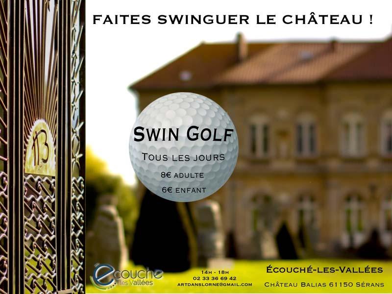 Swin golf du château Balias